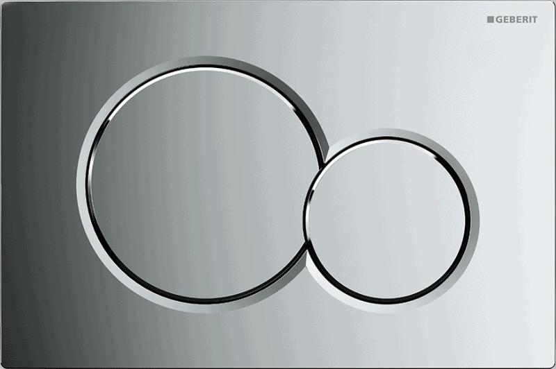 Przycisk uruchamiający przedni Geberit Sigma01 chrom błyszczący 115.770.21.5