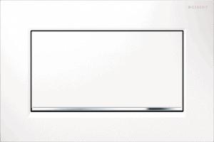 Przycisk spłukujący Geberit Sigma30 biały/chrom błyszczący/biały 115.893.KJ.1