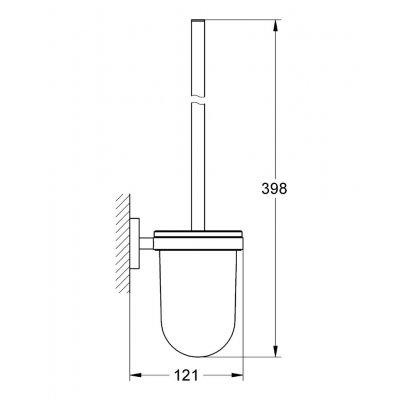 Zdjęcie Szczotka toaletowa Grohe Essentials 40374001