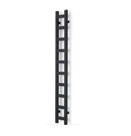 Grzejnik łazienkowy Terma Easy One 1600x200mm Metalic Black WWEAN160020