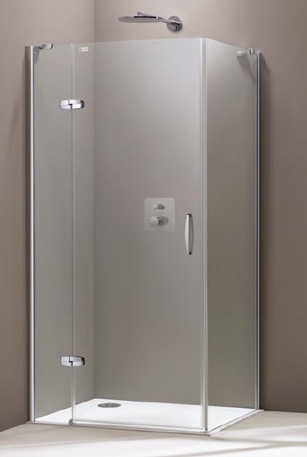Ścianka boczna Huppe Aura elegance na wymiar 400680.087.322 Anti-plaque