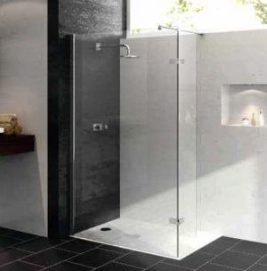 Ścianka boczna Huppe Enjoy pure Walk-In z ruchomym segmentem Lewa 90cm 4T1303.087.322 Anti-plaque