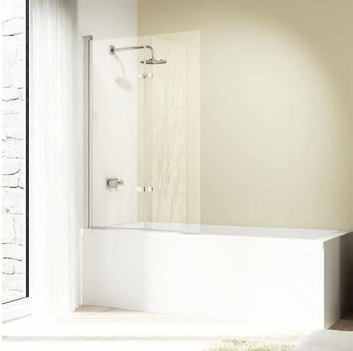 Drzwi skrzydłowe składane nawannowe Huppe Design elegance 120cm Lewe 8E2302.087.322 Anti-plaque