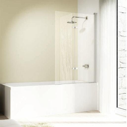 Drzwi skrzydłowe składane nawannowe Huppe Design elegance 100cm Prawe 8E2401.087.322 Anti-plaque
