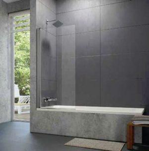 Parawan nawannowy Huppe Design pure 1-częściowy 75cm 8P1901.087.322 Anti-plaque