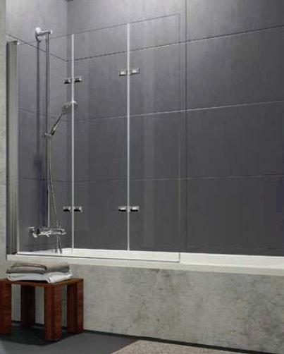 Parawan nawannowy Huppe Design pure 3-częściowy Prawy 120cm 8P6601.087.321