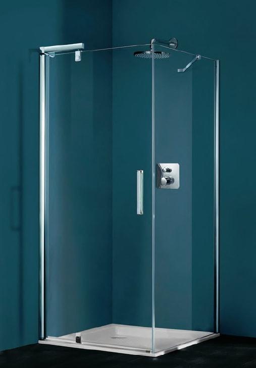 Ścianka boczna do drzwi skrzydłowych 4-kątna Huppe Refresh 120cm 9P0715.087.321
