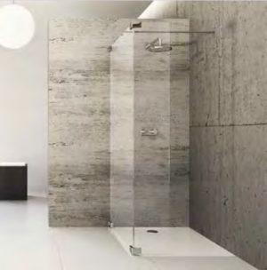 Kabina prysznicowa Walk-In Huppe Studio Paris pure na wymiar Lewa BR0759.E05.322 Anti-plaque