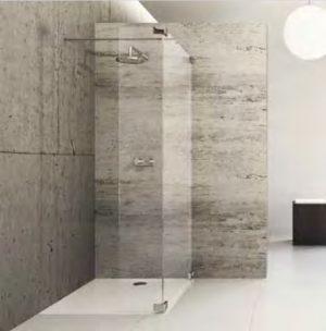 Kabina prysznicowa Walk-In Huppe Studio Paris pure na wymiar Prawa BR0769.E05.322 Anti-plaque