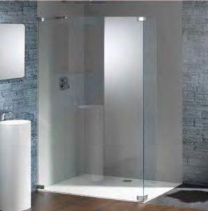 Kabina prysznicowa Walk-In Huppe Studio Paris elegance na wymiar Lewa PR0759.E05.322 Anti-plaque