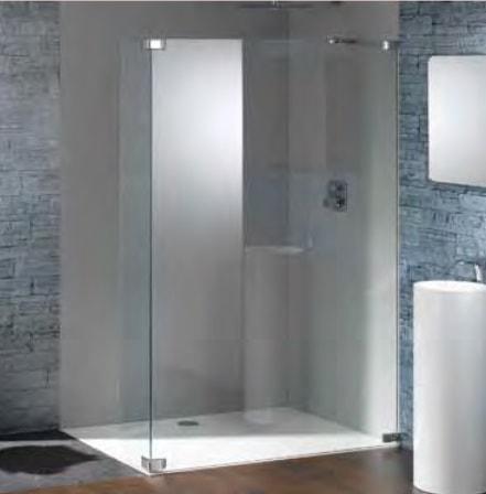Kabina prysznicowa Walk-In Huppe Studio Paris elegance na wymiar Prawa PR0769.E05.322 Anti-plaque