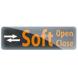 Funkcja Huppe Soft Open / Soft Close do drzwi suwanych 1-częściowych .730