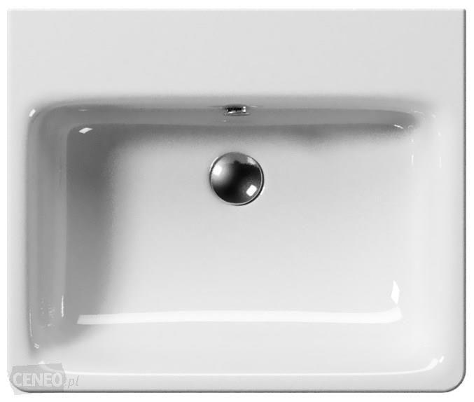 Umywalka wisząca GSI Sand 60x50cm 9031011