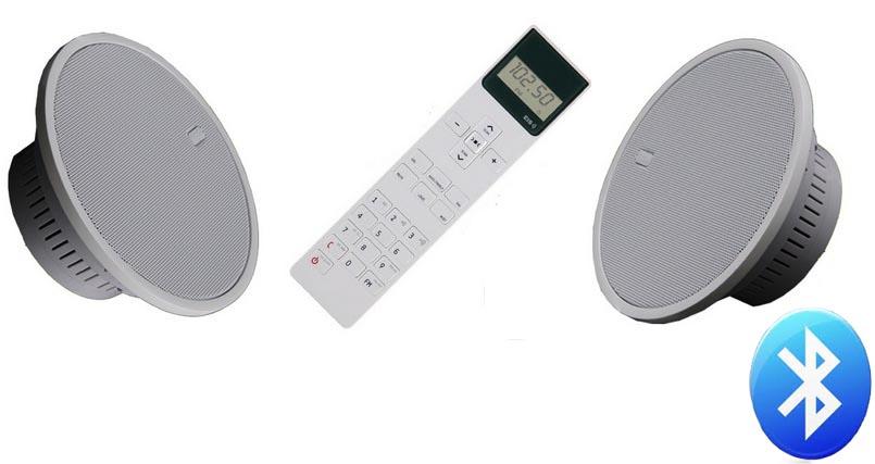 Radio pod zabudowę do łazienki/kuchni EisSound KBSound iSelect 5 + Bluetooth
