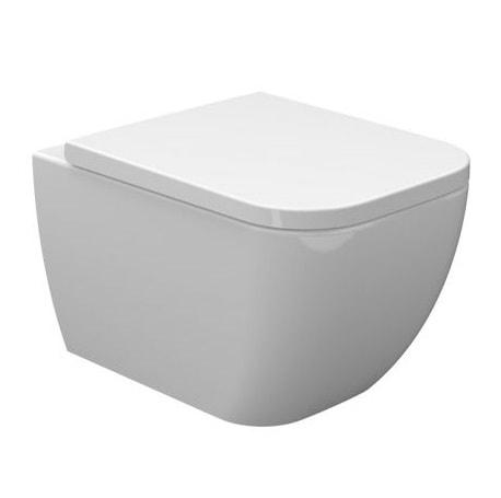 Miska wisząca WC + deska wolnoopadająca Bathco New Toledo 4516R