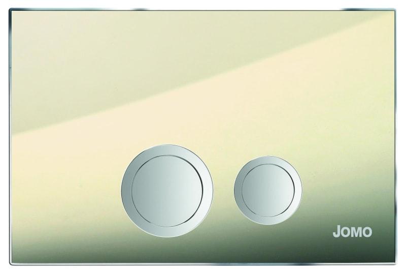 Przycisk Jomo Avantgarde 167-30001902-00 szkło dymione brąz