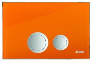 Przycisk Jomo Avantgarde 167-30002001-00 pomarańczowy