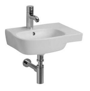 Umywalka asymetryczna Koło Style, Reflex, 45cm L22145900