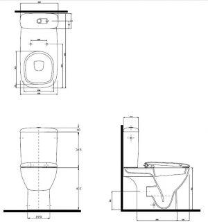 Zdjęcie WC kompakt Koło Style L29000000