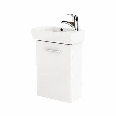 Szafka pod umywalkę z umywalką Koło Nova Pro 45cm biały połysk M39003000 prawa