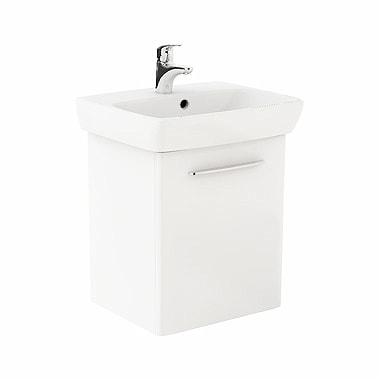 Szafka pod umywalkę z umywalką Koło Nova Pro 55cm biały połysk M39005000