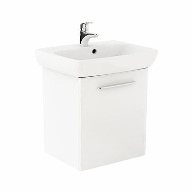 Szafka pod umywalkę z umywalką Koło Nova Pro 60cm biały połysk M39006000