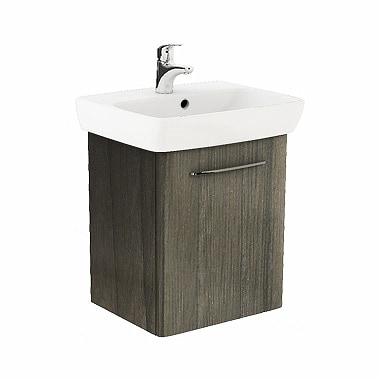 Szafka pod umywalkę z umywalką Koło Nova Pro 55cm szary jesion M39011000