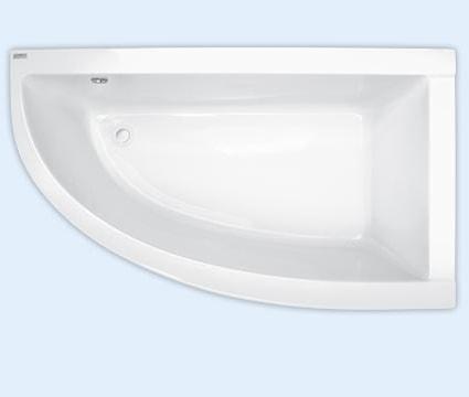 Wanna narożna asymetryczna Pool-Spa Laura Prawa 80x140cm PWANK..ZN000000