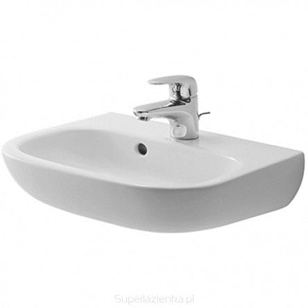 Umywalka Duravit D-code 45x34cm z przelewem biała 07054500002 @