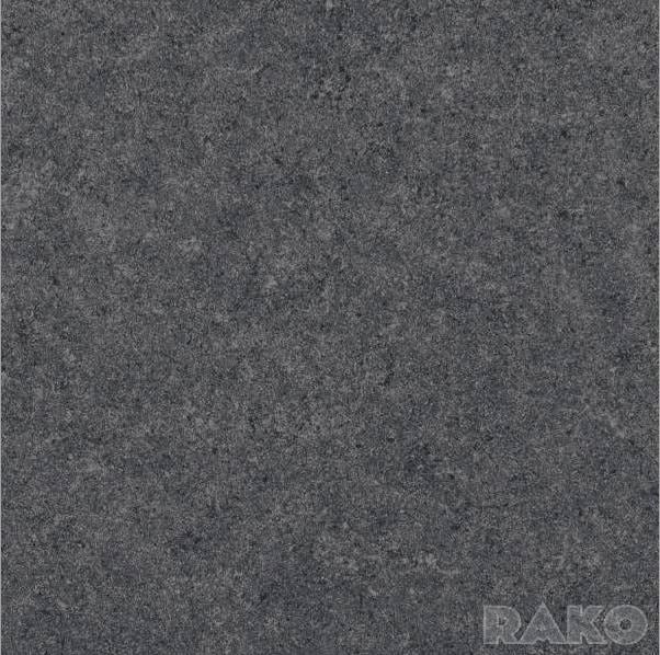 Płytka podłogowa Lassersberger-Rako Rock czarna DAP63635 59,8x59,8 półpoler