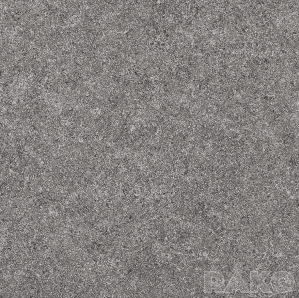 Zdjęcie Płytka podłogowa Rako Rock ciemnoszara DAP63636 59,8×59,8 półpoler
