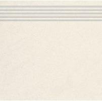 Stopnica frezowana polerowana Nowa Gala Concept 99 super biała 29,7x29,7 - 1 op.