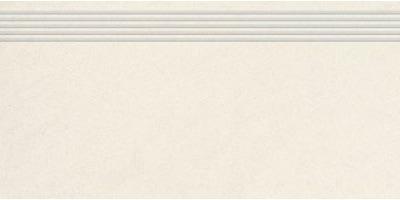 Stopnica frezowana naturalna Nowa Gala Concept 99 super biała 29,7x59,7 - 1 op.