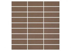 Mozaika podłogowa Nowa-Gala Monotec brunatny M-c-MT 07 29,7x29,7cm