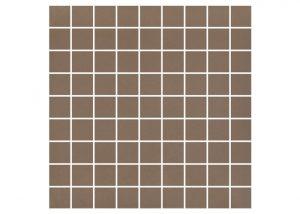 Mozaika podłogowa Nowa-Gala Monotec ciemny brąz M-k-MT 05 29,7x29,7cm