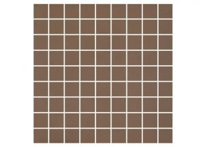 Mozaika podłogowa Nowa-Gala Monotec brunatny M-k-MT 07 29,7x29,7cm