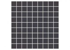 Mozaika podłogowa Nowa-Gala Monotec czarny M-k-MT 14 29,7x29,7cm