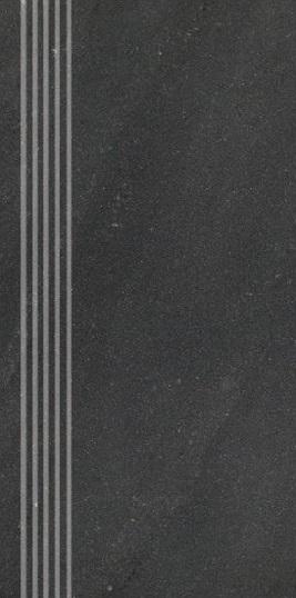 Stopnica Nowa Gala Vario VR14 czarny 29,7x59,7cm naturalna