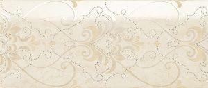 Dekoracja ścienna Novabell Arte Decoro damasco crema marfil 25x59,1cm ARWD30K