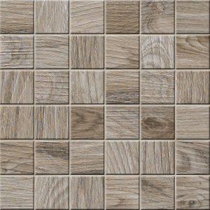 Mozaika podłogowa deskopodobna Novabell My Space Cinnamon ESP555K 30x30
