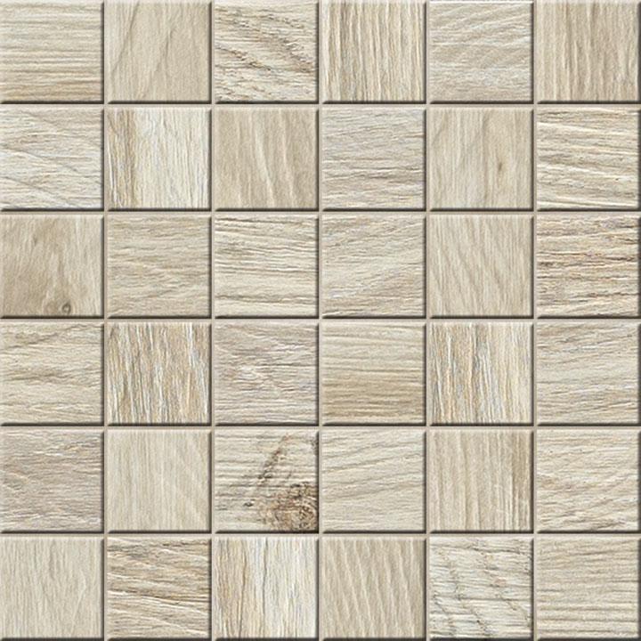 Mozaika podłogowa deskopodobna Novabell My Space Plus Lappato Bamboo ESPM44L 30x30