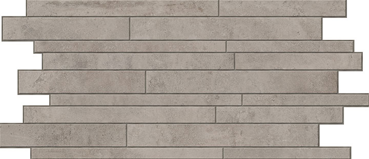 Mozaika podłogowa Novabell Walking Iron 30x60cm WLK117K
