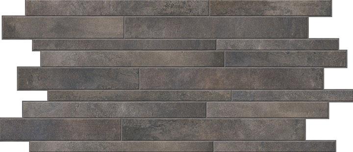 Mozaika podłogowa Novabell Walking Carbon 30x60cm WLK997K