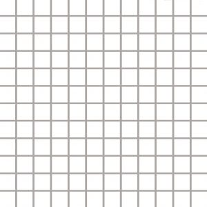Mozaika ścienno-podłogowa Paradyż Albir Bianco 30x30 (2,3x2,3)