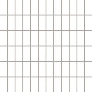 Mozaika ścienno-podłogowa Paradyż Albir Bianco 30x30 (2,3x4,8)