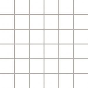 Mozaika ścienno-podłogowa Paradyż Albir Bianco 30x30 (4,8x4,8)