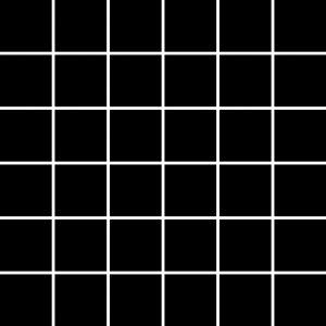 Mozaika ścienna Paradyż Albir Nero 30x30 (4,8x4,8)