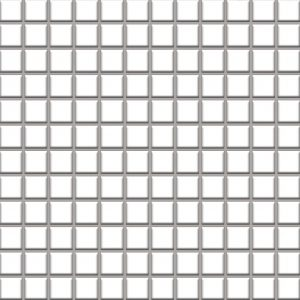 Mozaika ścienno-podłogowa Paradyż Altea Bianco 30x30 (2,3x2,3)