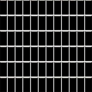Mozaika ścienna Paradyż Altea Nero 30x30 (2,3x4,8)