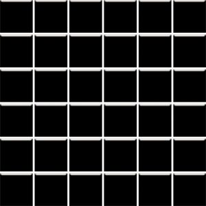 Mozaika ścienna Paradyż Altea Nero 30x30 (4,8x4,8)